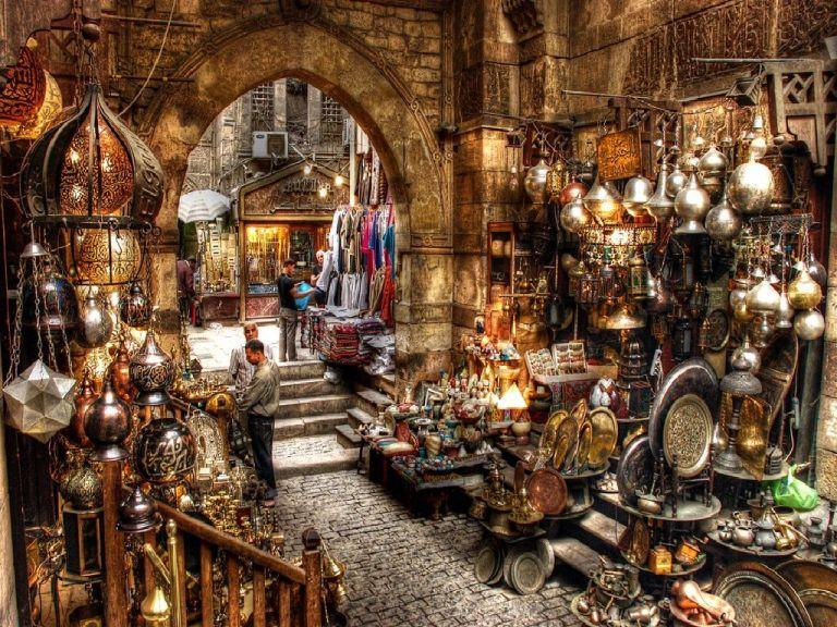 Khan-el-Khalili-bazar-egypt