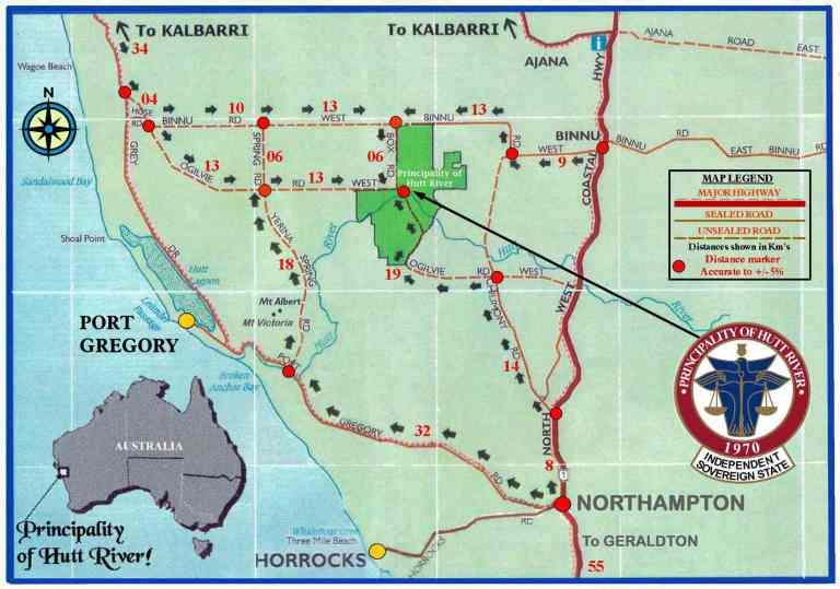 PHR Location Map